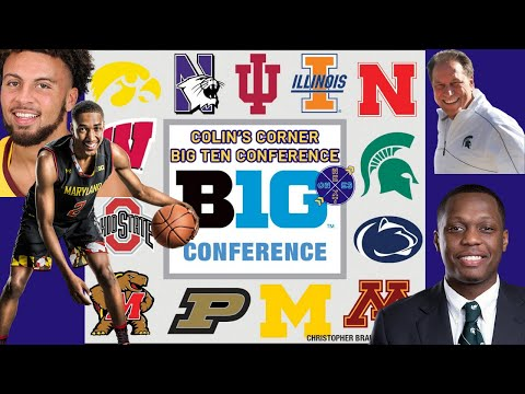 Big Ten Conference Basketball 2019-2020 Preview | Michigan State 2020 NCAA Champions!?