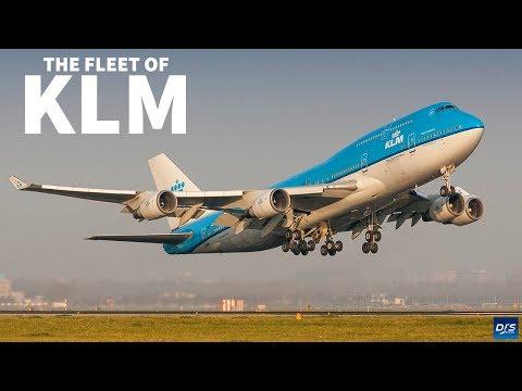 The KLM Fleet