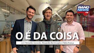"""""""O É da Coisa"""" com Reinaldo Azevedo - 03/10/2019 - AO VIVO"""