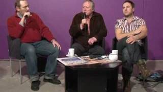 Filmas «Dancis pa trim» komanda TV «Diena» viesistabā (03.03.2011.)