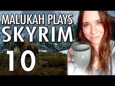 Malukah Plays Skyrim - Ep. 10: Bears, Cliffs, and Gollum's Mother