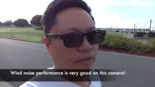 Test of Sony CyberShot WX-80 Camera Vlog Cam For Vlogging