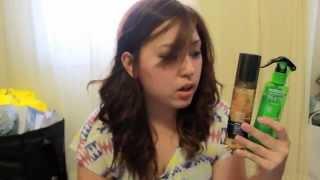 Review - Pantene vs Garnier Volumizing Hairspray