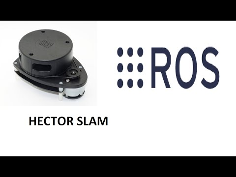 ROS Hector SLAM package using RPLidar by Kiran Pattanashetty