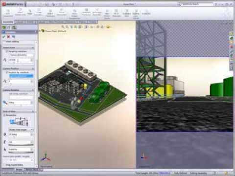 Process And Plant Design With Solidworks 3d Cad Solutions Youtube