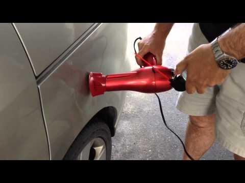 Réparation d'une bosse sur un véhicule / easy fix car
