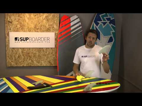 SUP Fins - How to get the most out of your surf SUP board with fins