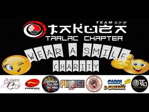 Team Takuza Tarlac Chapter goes to San Carlos Elementary School (WEAR A SMILE CHARITY PROGRAM)
