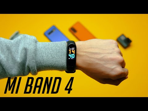 Xiaomi Mi Band 4  detailed review. How to expand the basic features?