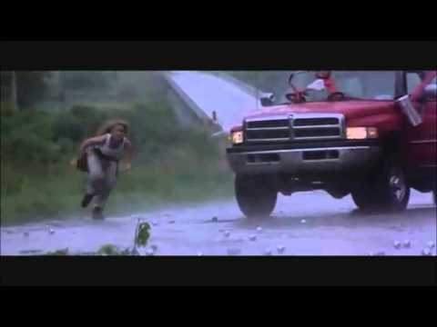 Twister - Hail on the Hill scene