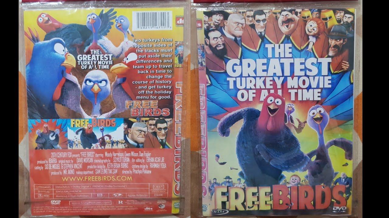 Download Free Birds (2013) DVD Menu 2021
