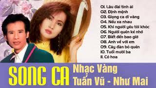 TUẤN VŨ, NHƯ MAI - Song Ca Nhạc Vàng Hải Ngoại Chọn Lọc Hay Nhất 2018   Nhạc Vàng Tuấn Vũ