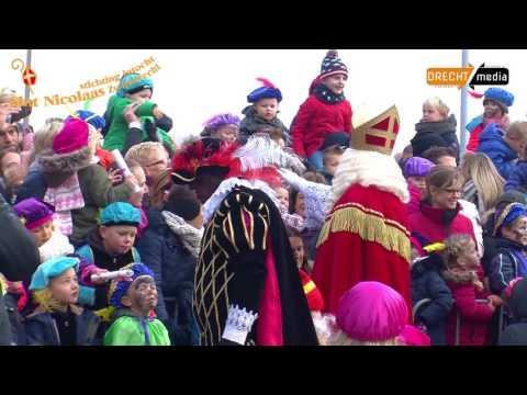 Intocht Sinterklaas Zwijndrecht 2016 Youtube