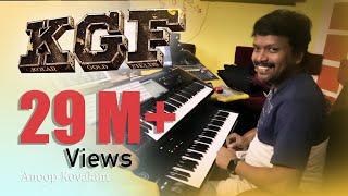 KGF Theme Music| Anoop Kovalam | Live Programming| KGF| Yash