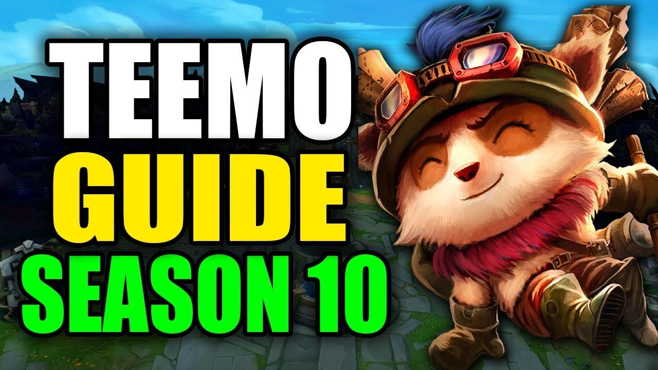 Season 10 Teemo Gameplay Guide Best Teemo Build Runes Playstyle League Of Legends Youtube