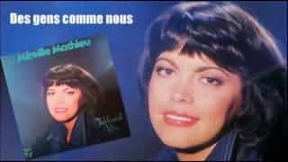 Des gens comme nous - Mireille Mathieu