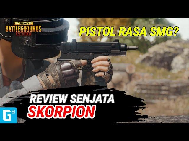 PISTOL TERBAIK SAAT INI!? - REVIEW SKORPION   PUBG Mobile