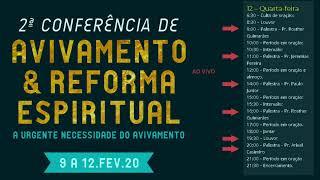 2020-02-12  16:00 h  Palestra com Pr Rosther Guimarães