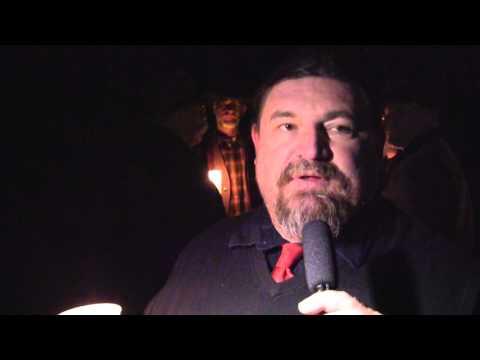 Joe Hill vigil at Sugar House Park