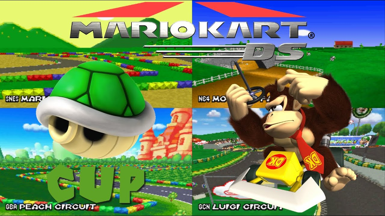 mario kart ds grand prix 150cc shell cup star rank youtube. Black Bedroom Furniture Sets. Home Design Ideas