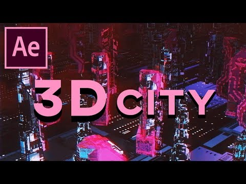 HOW TO MAKE ELEMENT 3D LOOK BETTER |  Futuristic City Tutorial (After Effects)