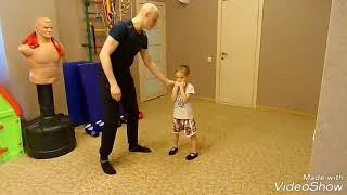 Как тренировать детей от 6 лет, 1 урок.