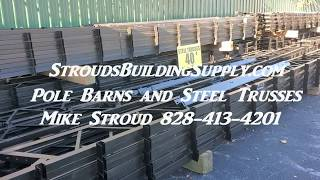 STEEL TRUSSES  Forget WOOD TRUSSES American Made
