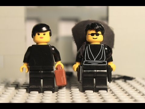 Lego Matrix Lobby Fight Scene