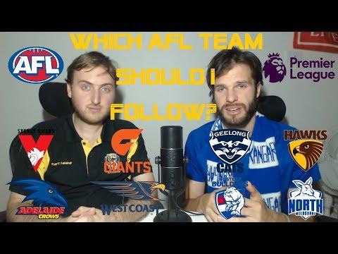 Which AFL team should I follow: AFL vs EPL (full)