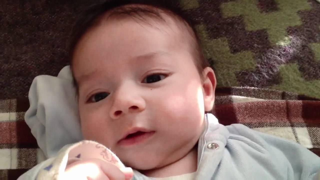 Conversando con mi bebe de dos meses y medio youtube - Tos bebe 2 meses ...