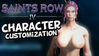 Saints Row 4 - Inauguration Station - Hot Anime Female (Character Customization Gameplay) IV