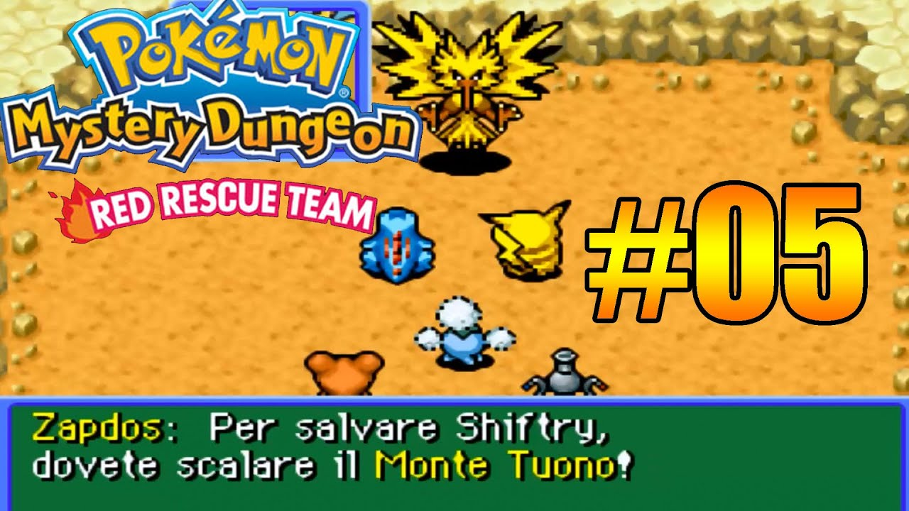 pokemon dungeon squadra rossa