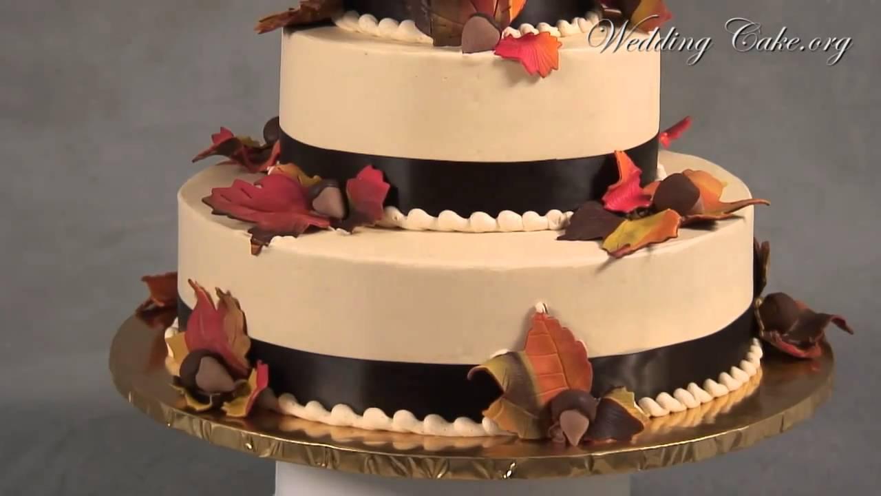 Fall Wedding Cakes | Orange Wedding Cakes | Fall in Love - YouTube