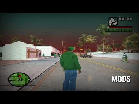 Gta San Andreas. El Cielo Rojo