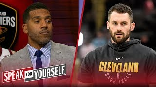 Jim Jackson on Kevin Love's new contract, Kawhi's fit in Toronto | NBA | SPEAK FOR YOURSELF