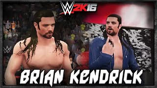 WWE 2K16 Brian Kendrick CAW Formula + Entrance & Finisher