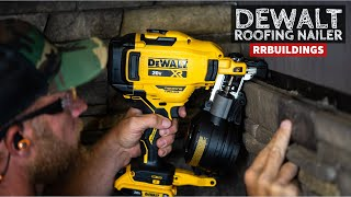 BRAND NEW DeWalt 20V Battery Powered Coil Roofing Nailer: Toolsday