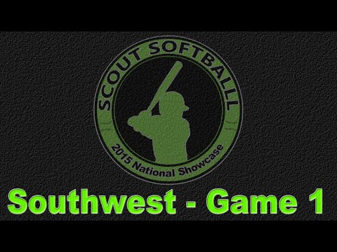 Scout Softball National Showcase - Game 1 - Dallas - 6/9/2015