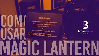 Como Instalar e Usar o MAGIC LANTERN na CANON T3i!