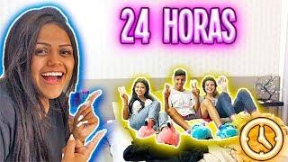 24 HORAS NO QUARTO DA CAMILA !!!