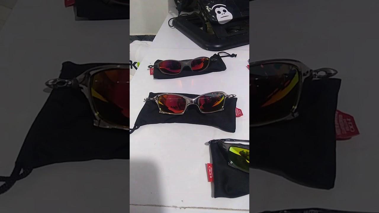 Óculos Oakley Juliet doblox Penny Romeu1 Romeu2 Squared Mars medusa Bad mam Juliet  24k Romeu1 24k ce6a4d611e