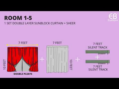 EB Curtain RM 6899 package!