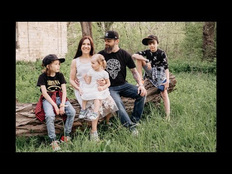 Family Outdoor Photo Shoot, Backstage