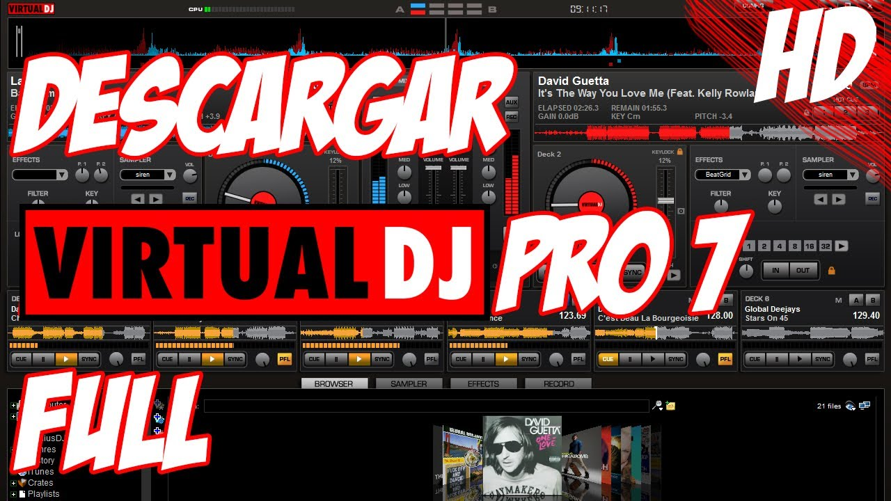 virtual dj 7 full para mac