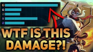 WAS THIS THE BUFF CORKI NEEDED?! WTF IS THIS DAMAGE?? CORKI ADC PATCH 7.12 BUFFS - League of Legends