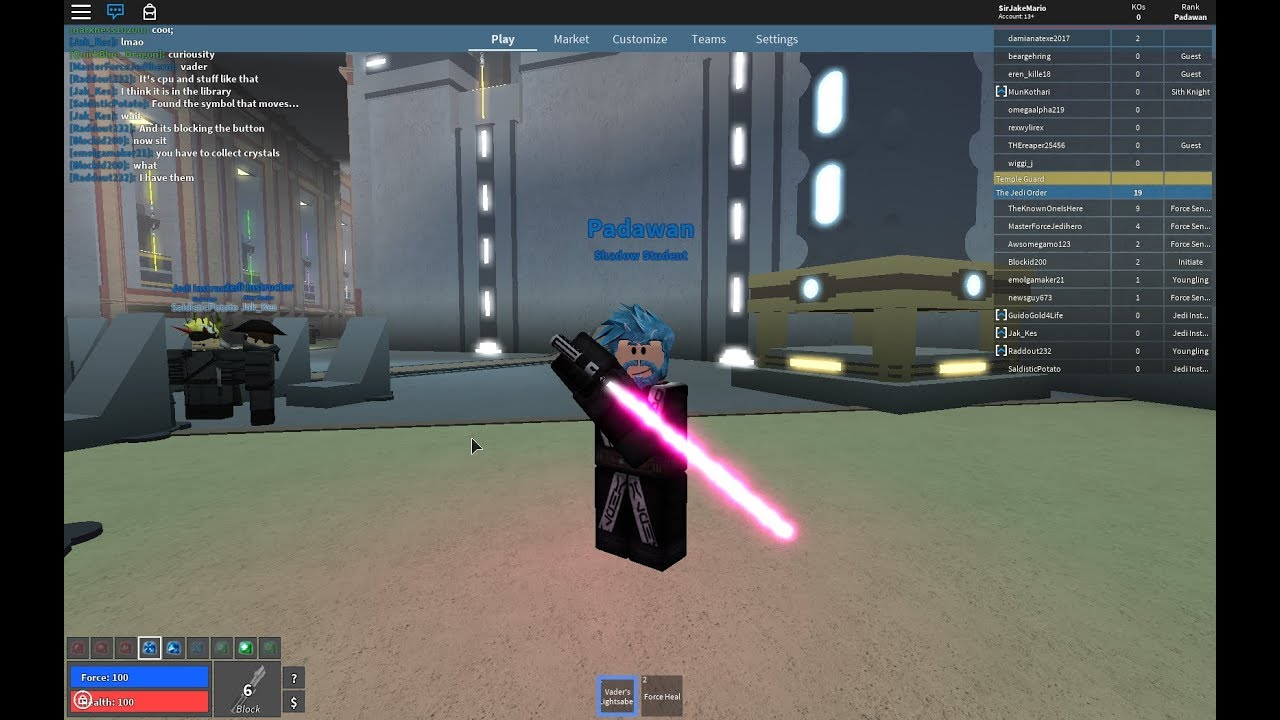 Star Wars Crystal Caves On Ilum Roblox Roblox Tjo Ilum How To Get Darth Vader Hilt And Pink Crystal Youtube