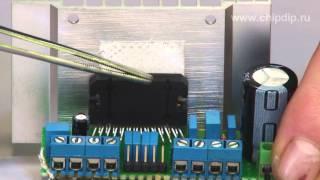видео Схема мостового стерео УМЗЧ К. Вайсбейна на лампах 6Н1П, 6П41С (20Вт)