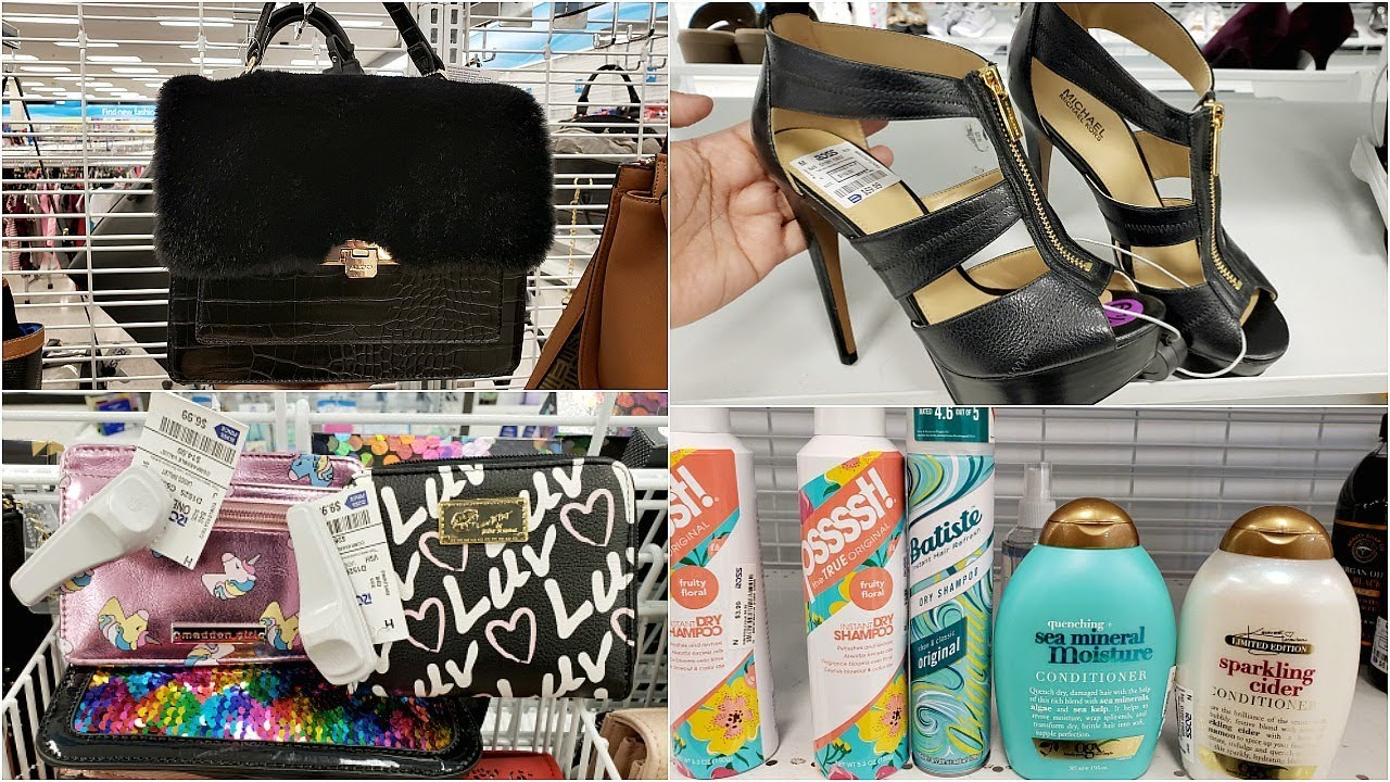 b02ff337126aeb 31 Surprising Name Brands You ll Find at Ross - The Krazy Coupon Lady ·  COME WITH ME- ROSS PURSE BROWSING AND SHOES 2019 - YouTube calvin klein  makeup bag