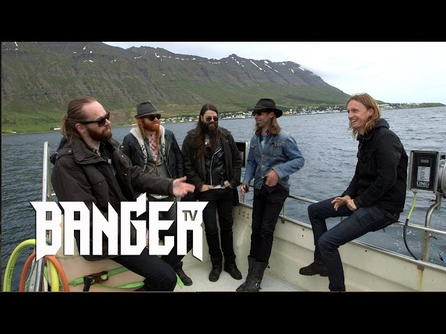 Sólstafir Interview at Eistnaflug 2016