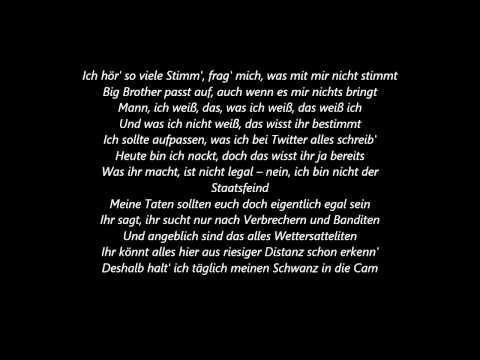 MoTrip ft Elmo-Guten Morgen NSA(lyrics)